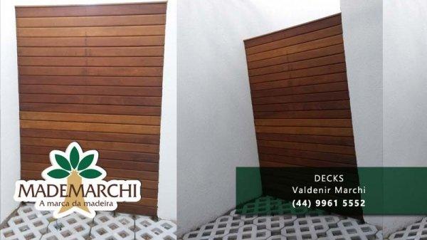 deck para jardim de inverno:Deck para Jardim de inverno Mademarchi